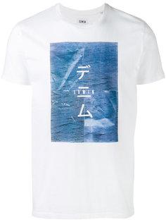 футболка с принтом  Edwin