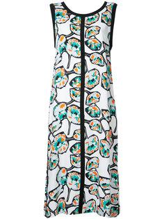 платье-трапеция с принтом Whisper Marni