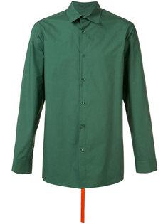 strap detail shirt  D.Gnak
