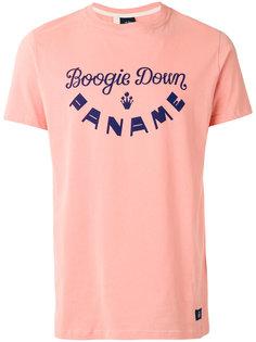 printed logo T-shirt Bleu De Paname