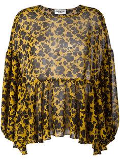блузка с цветочным принтом Essentiel Antwerp