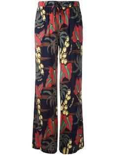 расклешенные брюки с принтом Havana  P.A.R.O.S.H.