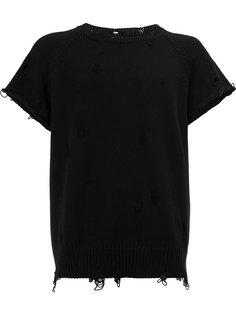футболка с рваной отделкой The Soloist