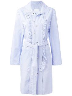 платье-пальто с поясом Maison Margiela