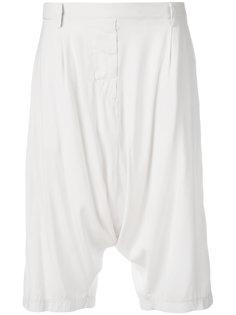 шорты с заниженным шаговым швом Kristensen Du Nord
