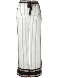 полосатые брюки Avery  Equipment