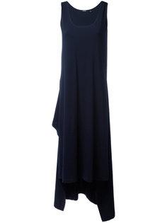платье с неравномерным подолом Aspesi