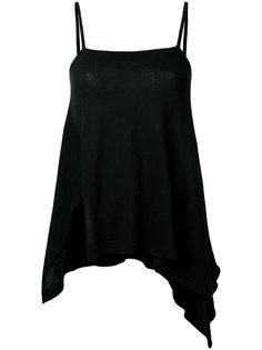 asymmetric hem camisole Forme Dexpression
