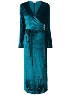 вечернее платье с запахом Attico