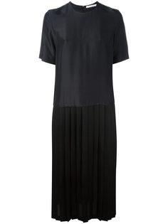 платье-футболка кроя миди Julien David