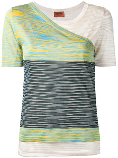 двухслойная вязаная футболка Missoni