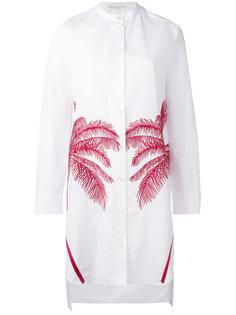 длинная рубашка с пальмой Stella McCartney
