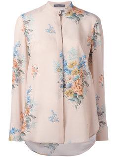 рубашка с цветочным принтом Alexander McQueen