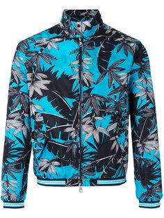 куртка с тропическим принтом Moncler