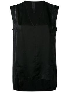 блузка шифт с молнией Ilaria Nistri