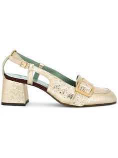 туфли-лодочки с ремешком на пряжке Paola Darcano