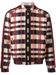 куртка в клетку Christian Pellizzari