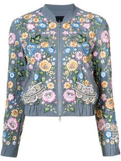 floral bomber jacket Needle & Thread