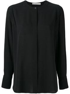рубашка с воротником-стойкой Vince