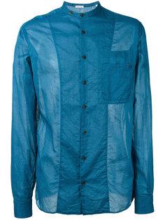 рубашка с воротником-стойкой Tomas Maier