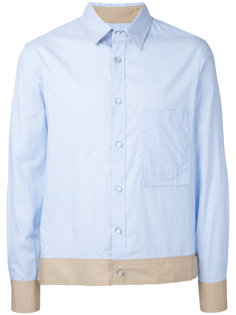 contrasting hem shirt General Idea