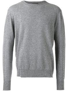 свитер с круглым вырезом  Raf Simons