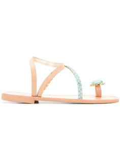 сандалии Kefalonia  Christina Fragista Sandals