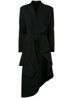 асимметричная куртка с накладными панелями Yohji Yamamoto