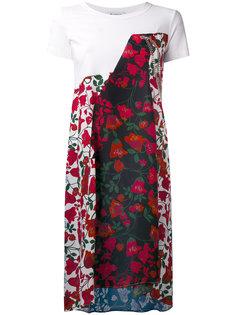 платье с цветочным принтом Dondup