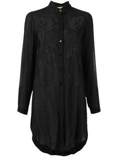 lace detail shirt Versace Jeans