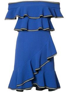 короткое платье Billie Ruffle Rebecca Vallance