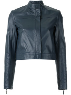 leather jacket Giuliana Romanno
