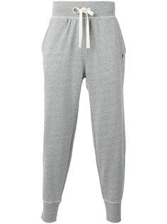 спортивные брюки с присборенными щиколотками Polo Ralph Lauren