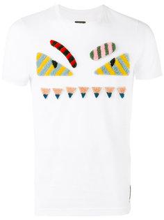 декорированная футболка  Bag Bugs Fendi