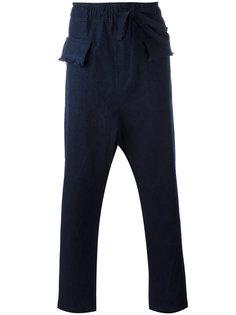 брюки с заниженной проймой Damir Doma