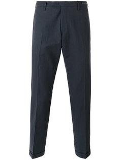 прямые костюмные брюки Pt01