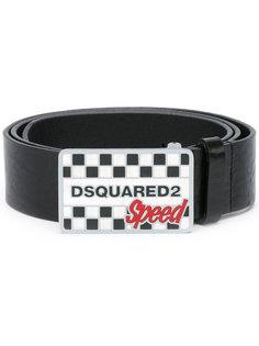 ремень с пряжкой Speed Dsquared2