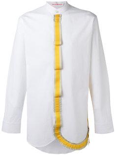 рубашка с воротником-стойкой Walter Van Beirendonck