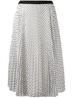 polka dot pleated skirt IM Isola Marras