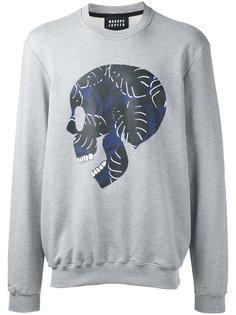 skull print sweatshirt Markus Lupfer
