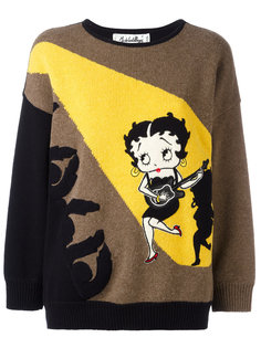 Betty Boop intarsia sweater Jc De Castelbajac Vintage
