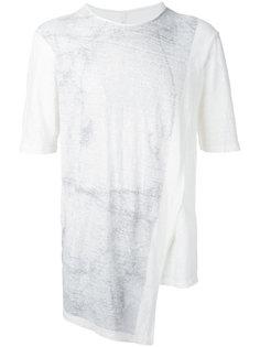 asymmetric hem T-shirt Forme Dexpression