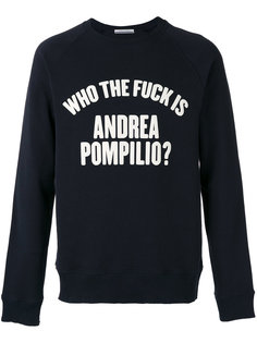 толстовка who the fuck Andrea Pompilio