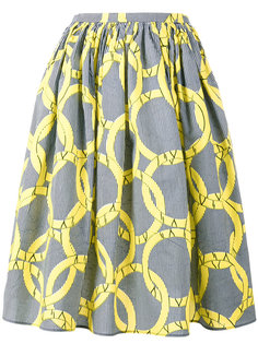 расклешенная юбка Maison Chateau Rouge