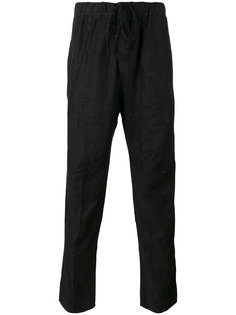 classic straight trousers Andrea Yaaqov
