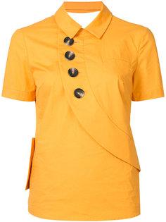 button shirt Self-Portrait