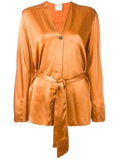 пиджак с поясом Forte Forte