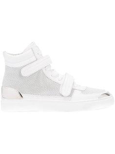 double stap hi-top sneakers  Louis Leeman