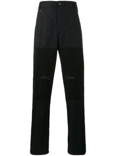 прямые брюки с нашивками Lanvin