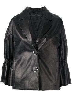 куртка на пуговицах с баской на рукавах Drome